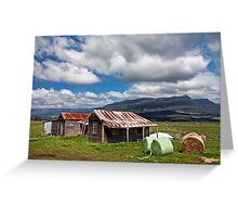 Great Western Tiers from Dairy Plains Greeting Card