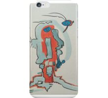 funky face 3 iPhone Case/Skin