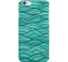 Wavy lines iPhone Case/Skin