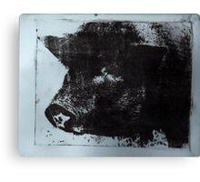 Celeste the Pig Canvas Print