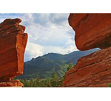"""Garden of the Gods - This place """"ROCKS""""! Photographic Print"""
