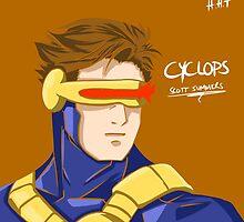 Cyclops - Scott Summers  by HuyHTran