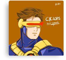 Cyclops - Scott Summers  Canvas Print