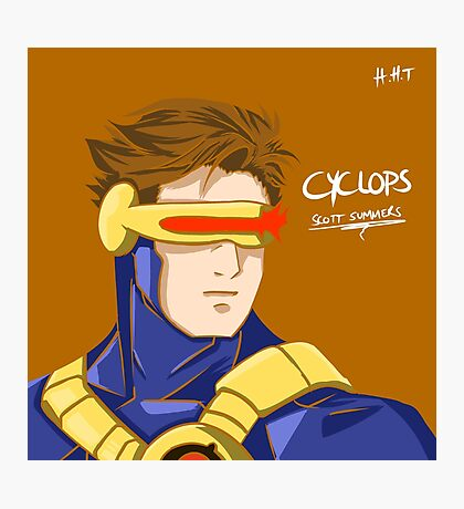 Cyclops - Scott Summers  Photographic Print