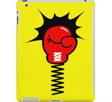 Comic Book Boxing Glove on Spring Pow iPad Case/Skin