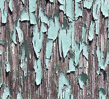 Blue peeling paint by limitlezz