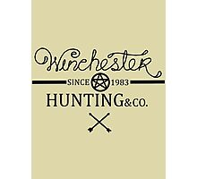 Hunting since 1983 Photographic Print