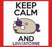 Lipatatorne licorne patate keep calm  Kids Clothes