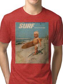 Born2Surf Tri-blend T-Shirt