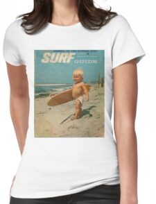 Born2Surf Womens Fitted T-Shirt
