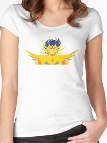 Cancer Deathmask Women's Fitted Scoop T-Shirt