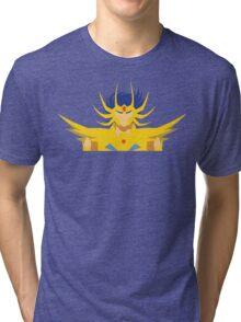 Cancer Deathmask Tri-blend T-Shirt