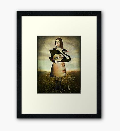 The second look Framed Print