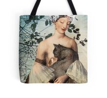 Madonna of the tree Tote Bag