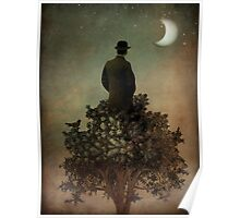 Man in tree Poster