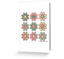 Candy Foot Flowers Greeting Card