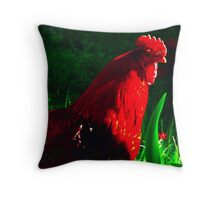 ~Rockie Red~ Throw Pillow