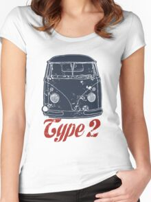 Type 2 Women's Fitted Scoop T-Shirt