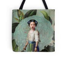 Morning Dew Girl Tote Bag
