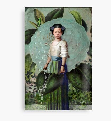 Morning Dew Girl Canvas Print