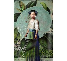 Morning Dew Girl Photographic Print