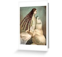 Schneeweißchen (Snow-White) Greeting Card