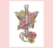 Skeleton with roses One Piece - Long Sleeve