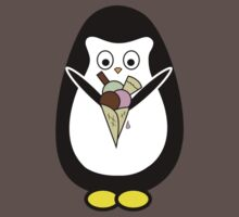 Penguin icecream One Piece - Short Sleeve