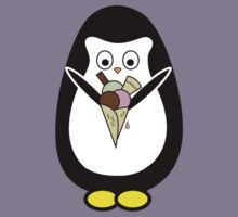 Penguin icecream Kids Tee