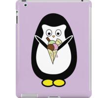 Penguin icecream iPad Case/Skin