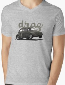 Drag! Mens V-Neck T-Shirt