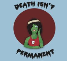 Death isn't Permanent Kids Tee