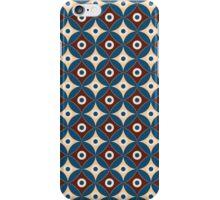 Geometric pattern of circles. Egypt style. iPhone Case/Skin