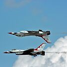 USAF Thunderbirds by J. Sprink