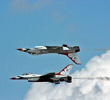 USAF Thunderbirds by J. Sprink