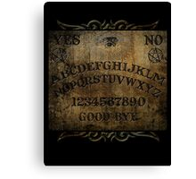 Ouija Board Horror Print Canvas Print