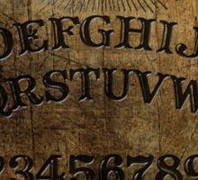 Ouija Board Horror Print Sticker