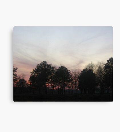Dusty Dark Sky Canvas Print