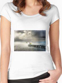 Oliver's Hill - Frankston, Mornington Peninsula Women's Fitted Scoop T-Shirt