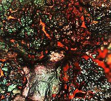 Shimmer and Simmer (Goethite) by Stephanie Bateman-Graham