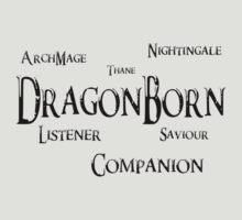 Skyrim - Titles of Skyrim by Dorchette