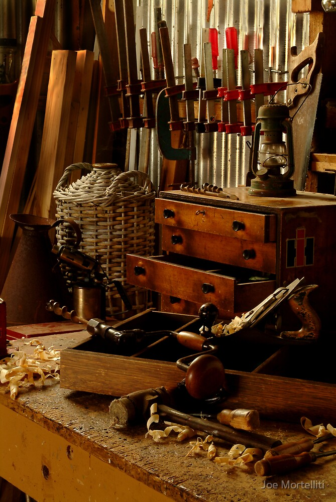 Craftman's Work Bench by Joe Mortelliti