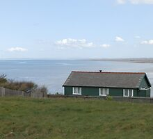 Hilbre Islands: largest Island: west kirby- Wirral.  by kytephotography