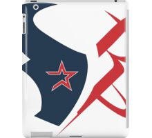 houston texans rockets logo iPad Case/Skin