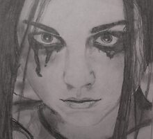 amy lee portrait by sevastra87