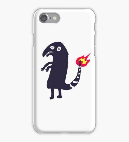 black charmander iPhone Case/Skin