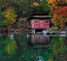 Japanese Garden Walk by Skye24Blue