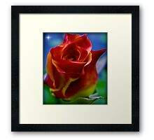 A Flower to a Daughter - LU...K Framed Print