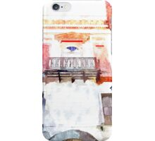 Laureana Cilento: view windows and balcony  iPhone Case/Skin