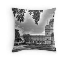 Royal Exhibition Building in Carlton Gardens, Melbourne Throw Pillow